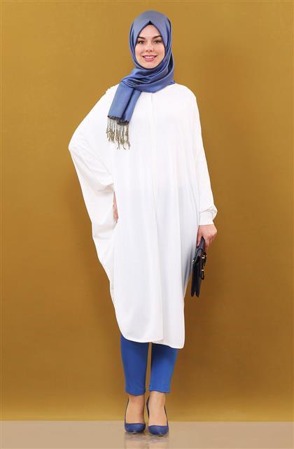 Knitwear Cloak-Beige KA-B6-TRK11-08