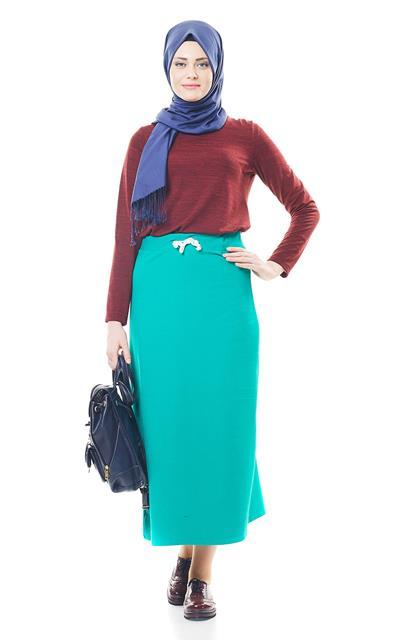 Skirt-Green EK4001-21