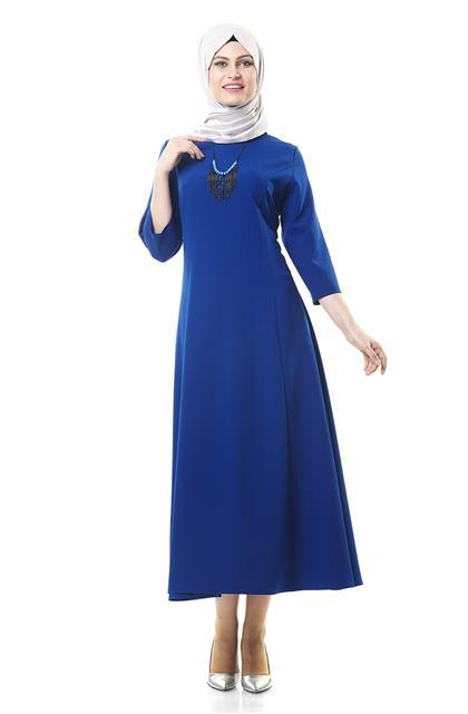 Doubleface Dress-Sax 1102-47