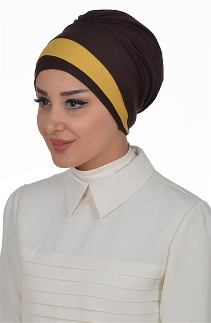 Ayşe TaYellowm Bone-Brownrengi Mustard B-0002-5-11