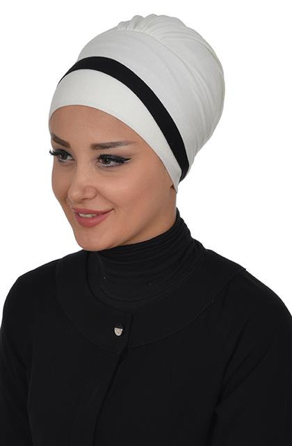 Ayşe TaYellowm Bone-Cream Black B-0002-8-6
