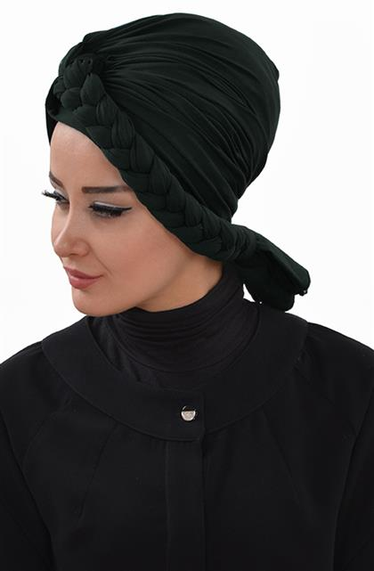 Ayşe TaYellowm Bone-Koyu Green B-0003-14
