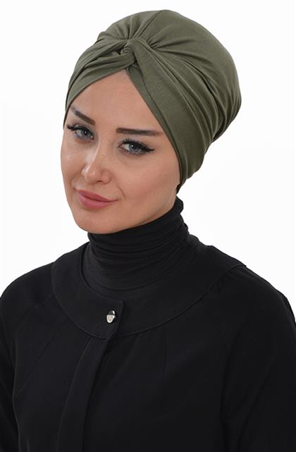 Ayşe TaYellowm Bone-Khaki Green B-0004-13