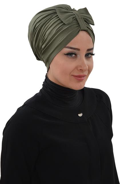 Ayşe TaYellowm Bone-Khaki Green B-0007-13