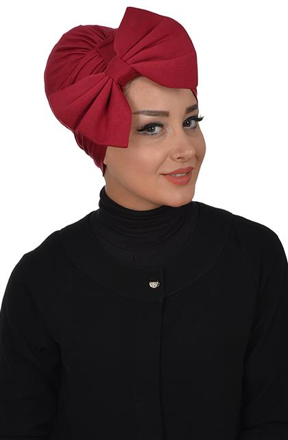 Ayşe TaYellowm Bone-Claret Red B-0011-3
