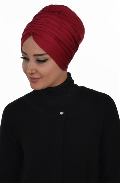 Ayşe TaYellowm Bone-Claret Red B-0013-3