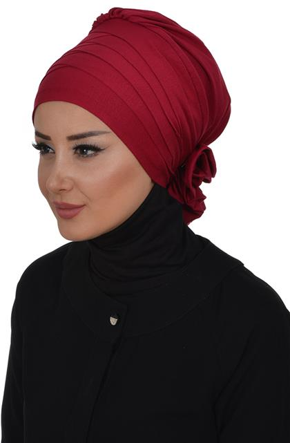 Ayşe TaYellowm Bone-Claret Red B-0014-3