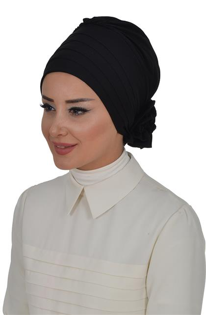 Ayşe TaYellowm Bone-Black B-0014-6