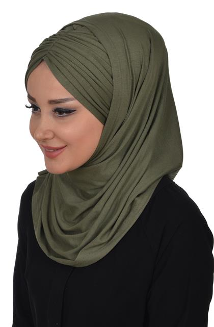 Ayşe TaYellowm Bone Set-Khaki Green B-0015-13