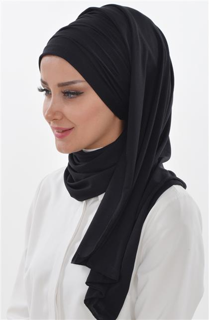 Ayşe TaYellowm Bone Shawl-Black Bt-0001-6