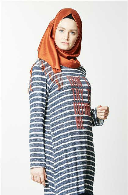 Tunic-Navy Blue TK5068-17