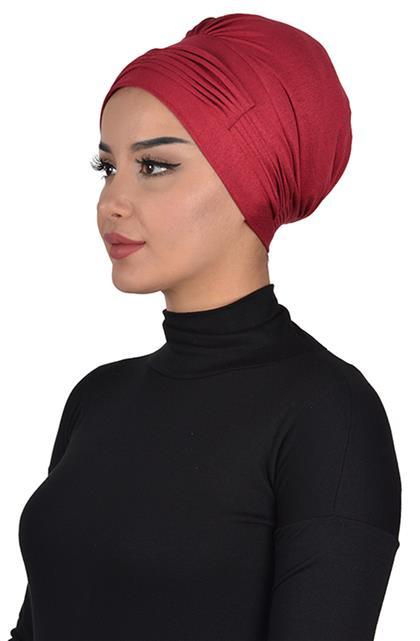 Bonnet-Claret Red B-0019-3