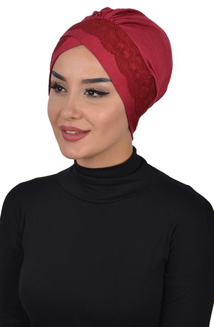 Bonnet-Claret Red B-0022-3