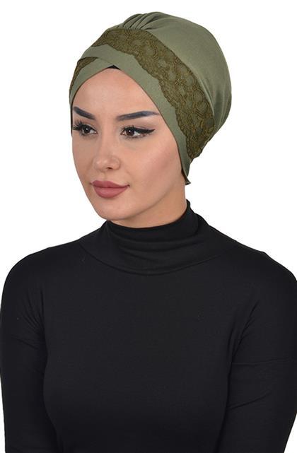 Bonnet-Khaki Green B-0022-13