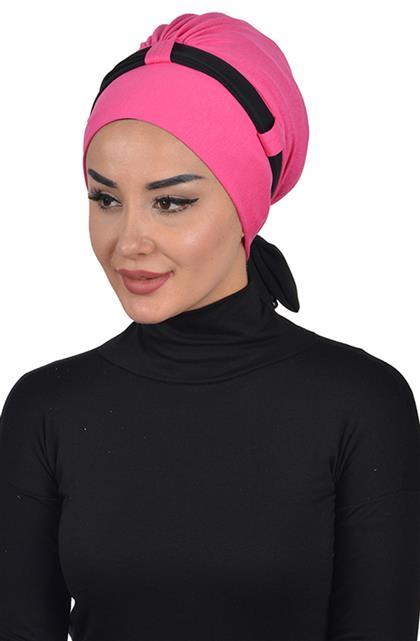 Bonnet-Fuchsia-Black B-0024-10-14