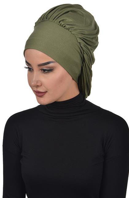 Bonnet-Khaki Green B-0025-13