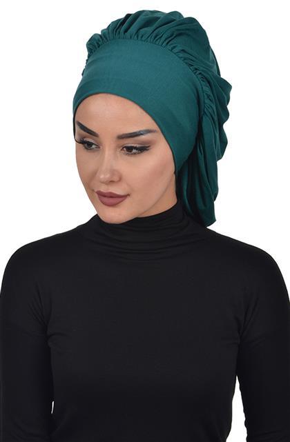 Bonnet-Dark Green B-0025-14
