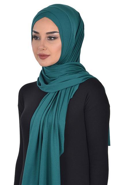 Shawl-Dark Green Ps-0040-14