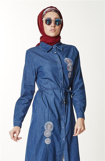 Jeans Tunic-Blue 288-70
