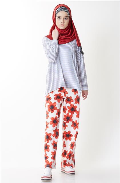 Pantolon-Kırmızı EK4003-34