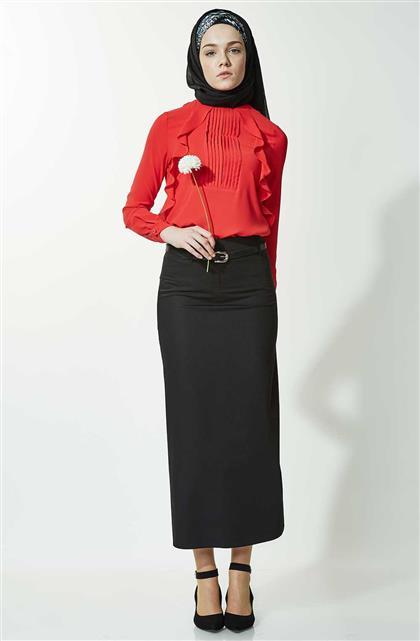 Skirt-Black 770-01