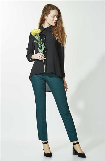 Pants-Green 1673-21