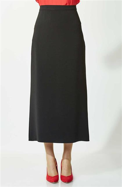 Skirt-Black 754-01