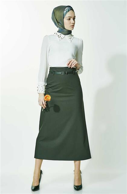 Skirt-Khaki 770-27