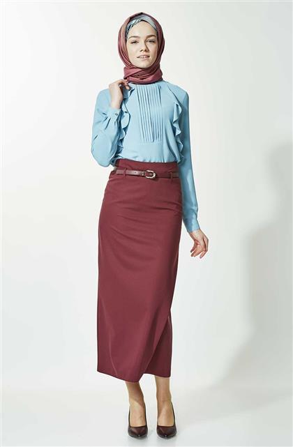 Skirt-Claret Red 770-67