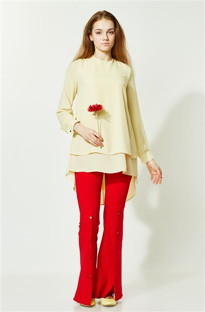 Pants-Red 1692-34