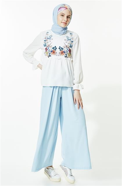 Pants-Baby Blue MS870-118