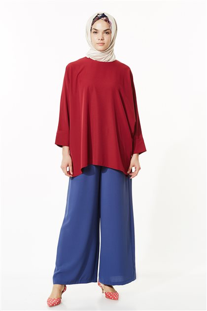Pants-İndigo MS752-83