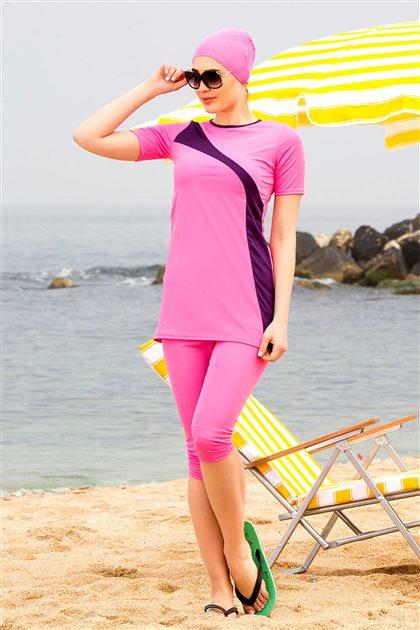 ملابس سباحة-وردي ar-1106-42