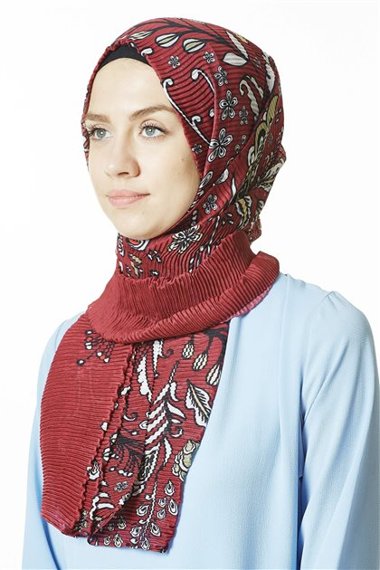 Patterned Shawl-17