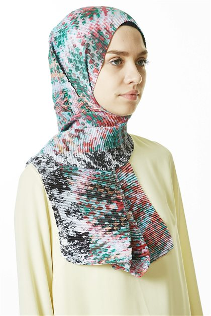 Patterned Shawl-21