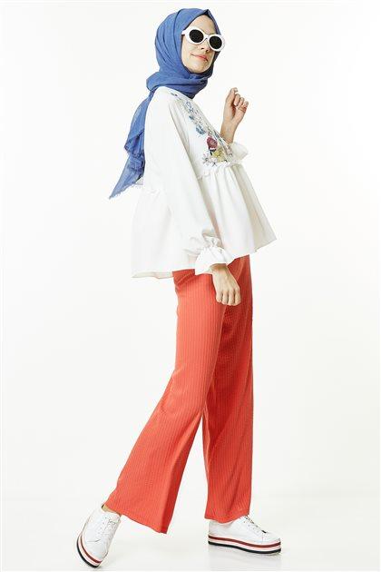 Pants-Coral EK4006-71