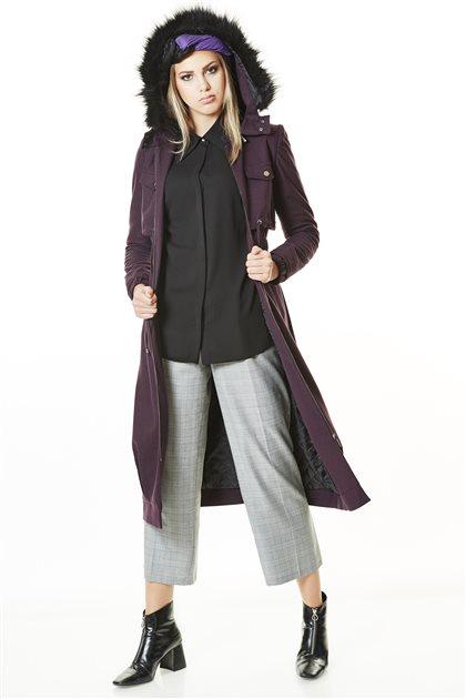 Outerwear-Plum TK-L8204-10