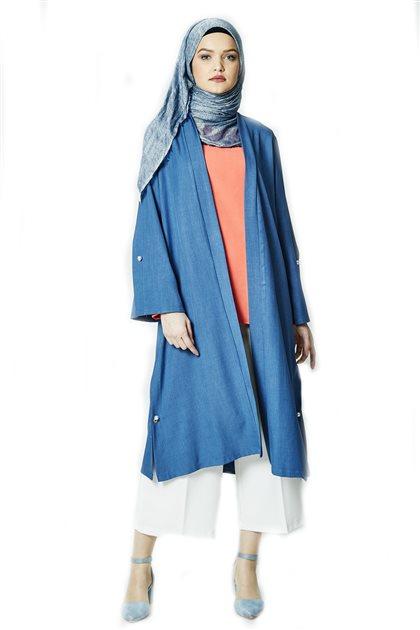 Poncho-Blue PNC 8558-70