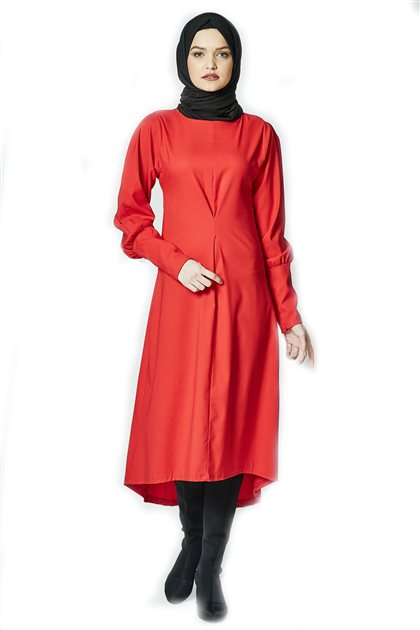 Tunic-Red TNK 33353-34
