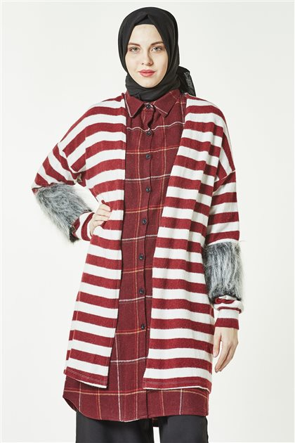 Cardigan-Claret Red HRK 8513-67