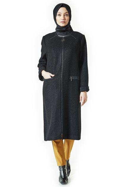 Coat-Black KA-A8-17041-12