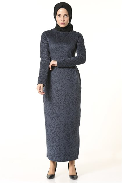 Dress-Navy Blue 2519-17