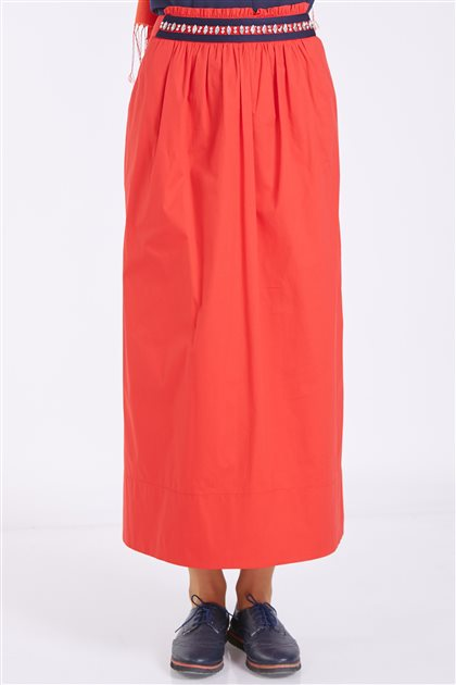 Skirt-Red 9Y1710-34