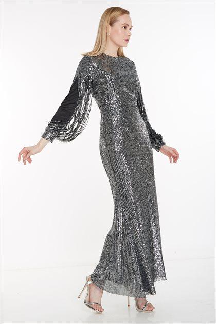 Dress-Anthracite 12022-50