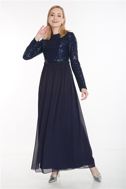 Dress-Navy Blue 12041-17