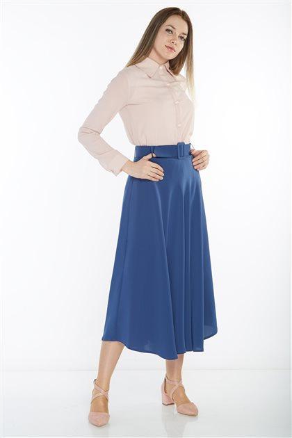 Skirt-İndigo 4781-83
