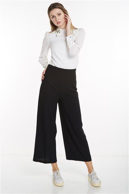 2NIQ Pants-Black MS700-01