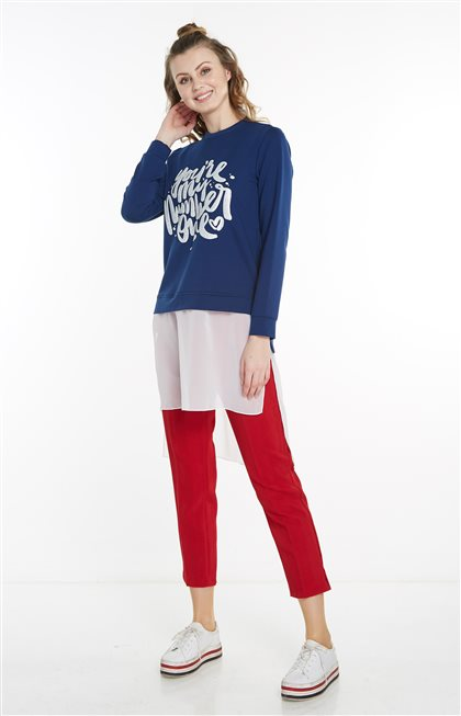 Sweatshirt-Lacivert 19Y-MM21.0144-17