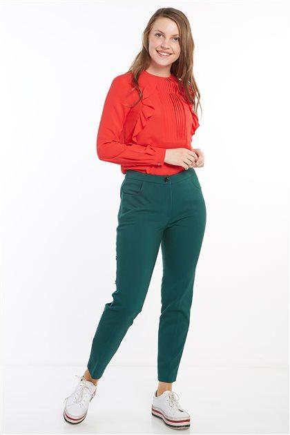 Pantolon-Yeşil KA-A8-19089-25