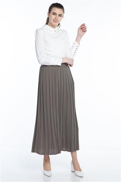 Skirt-Khaki MS131-21